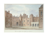 View in the Kitchen Court of St. James's Palace Giclee Print by John Buckler
