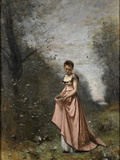 Springtime of Life, 1871 Giclee Print by Jean Baptiste Camille Corot