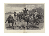The Earthen Chatti Race at the Baghi Polo-Club Race-Meeting, Bengal Giclee Print by John Charlton