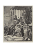 The Coronation of William the Conqueror Giclee Print by John Cross