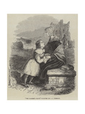 The Father's Grave Giclee Print by John Callcott Horsley