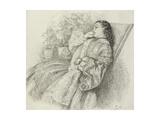 Georgina Hannay, 1859 Giclee Print by John Brett