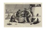The Ship's Belle, a Sketch on Board a Transatlantic Steamer Giclee Print by John Charles Dollman