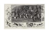 A Hound Trail in Cumberland Giclee Print by John Charlton