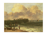 Yarmouth Jetty, C.1810 Giclee Print by John Crome