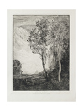 Souvenir D'Italie, 1863 Giclee Print by Jean Baptiste Camille Corot