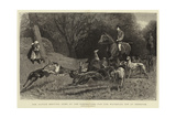The Altcar Meeting, Some of the Competitors for the Waterloo Cup at Exercise Giclee Print by John Charlton