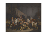 Death of an Old Man Giclee Print by Jean Baptiste Greuze