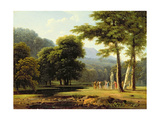 Landscape, 1804 Giclee Print by Jean Victor Bertin