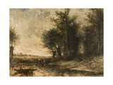 Landscape Giclee Print by Jean Baptiste Camille Corot