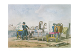 Droshka, 1803 Giclee Print by John Augustus Atkinson