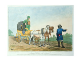 Summer Kibitka with a Courier, 1803 Giclee Print by John Augustus Atkinson