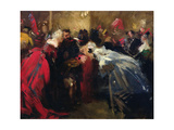 Masked Ball at the Tuileries Giclee Print by Jean-Baptiste Carpeaux