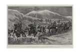 In Search of Miss Stone, the Departure of the American Mission from Seres to Djuma-Bali Giclee Print by John Charlton