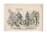 The Man of Words, the Man of Deeds, Which Do You Think the Country Needs, 1868 Giclee Print by John Cameron