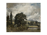Water Meadows Near Salisbury, 19th Century Giclee Print by John Constable