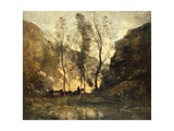 The Smugglers, C.1871-72 Giclee Print by Jean Baptiste Camille Corot
