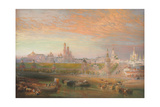 The Kremlin, Moscow Giclee Print by John Cooke Bourne