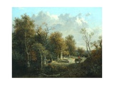 The Edge of the Forest Giclee Print by John Crome