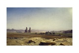 View of Plain of Thebes (Upper Egypt), 1857 Giclee Print by Jean-Leon Gerome