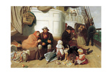 The Immigrants' Ship, 1884 Giclee Print by John Charles Dollman