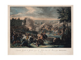 A Greek Victory over the Turks at Missolonghi, May 1825 Giclee Print by Johann Lorenz Rugendas