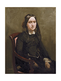 Mme Bison, 1852 Giclee Print by Jean Baptiste Camille Corot
