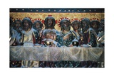 Last Supper Giclee Print by Jean Ravy
