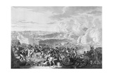 Napoleon's Flight at the Battle of Waterloo, 18 June 1815, 1816 Giclee Print by Johann Lorenz Rugendas