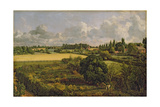 Golding Constable's Kitchen Garden, 1815 Lámina giclée por John Constable