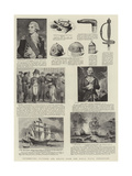 Interesting Pictures and Relics from the Royal Naval Exhibition Giclee Print by John Hoppner