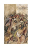 Study for the Proclamation of Don Carlos, C.1834-28 Giclee Print by John Frederick Lewis