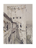 The Tower of Comares (Torre De Comares) Giclee Print by John Frederick Lewis