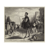 Malvolio I' the Sun, Twelfth Night Giclee Print by John Callcott Horsley