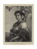 The Grape Gatherer Giclee Print by John Phillip