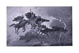 The Ride of the Valkyries Giclee Print by John Charles Dollman
