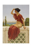 The Signal, 1899 Giclee Print by John William Godward