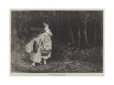The Haunted Wood Giclee Print by John Pettie