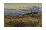Cornfield at Sunset, 1860 Giclee Print by John William Inchbold