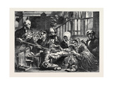 Collecting the Offering in a Scotch Kirk, from the Exhibition of the Royal Academy Giclee Print by John Phillip