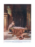 The Death of Cleopatra, C.1920 Giclee Print by John Collier