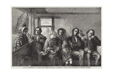 Scottish Presbyterians in a Country Parish Church, the Sermon Giclee Print by John Stirling