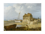 The Tidal Mill at Emsworth Giclee Print by John Thomas Serres