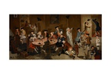 Sea Captains Carousing in Surinam, C.1752-58 Giclee Print by John Greenwood