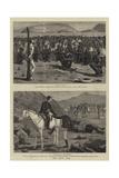 The Zulu War Reproduction procédé giclée par John Charles Dollman