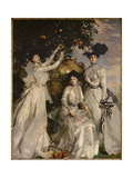 Portrait of the Acheson Sisters, 1902 Giclee Print by John Singer Sargent