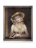 Portrait of Sophia Western Giclee Print by John Hoppner