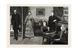 Interior, 1884, Life in Britain, Uk, Art, Artist Giclee Print by John Charlton
