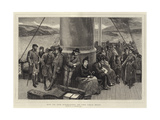Off to the Highlands on the Oban Boat Giclee Print by John Evan Hodgson