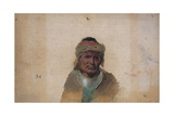 Unidentified Indian Man Giclee Print by John Mix Stanley